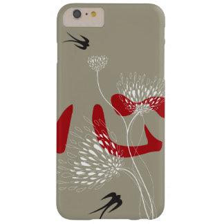 Kanji oriental del corazón chino de los pájaros de funda barely there iPhone 6 plus