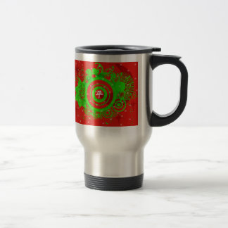 Kanji para la paz taza de café