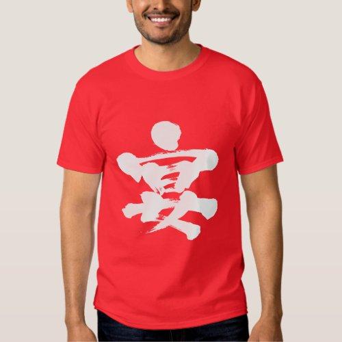 [Kanji] party Tshirts brushed kanji