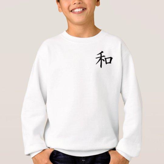 Kanji-Peace Sweatshirt