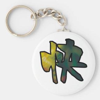 kanji pleasant keychain