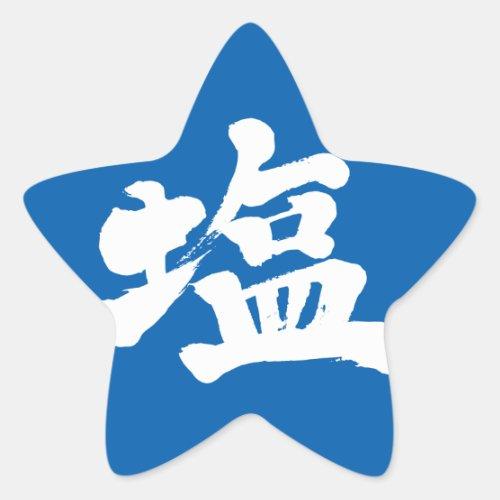 [Kanji] salt Star Sticker brushed kanji