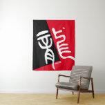 kanji seal script - 龍, Dragon - Tapestry