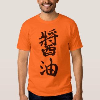 [Kanji] Soy sauce Shirt