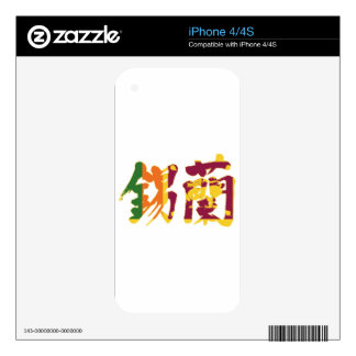[Kanji] Sri Lanka iPhone 4S Decals