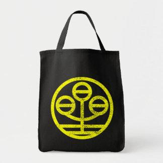 kanji star canvas bags