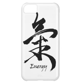 Kanji Symbol ENERGY  or CHI Asian Calligraphy Cover For iPhone 5C
