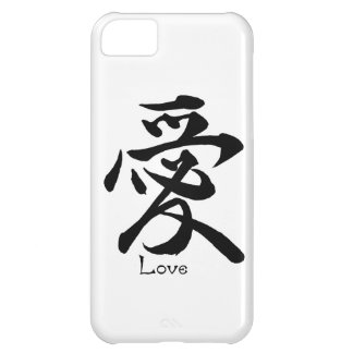 Kanji Symbol LOVE Japanese Chinese Calligraphy iPhone 5C Cover