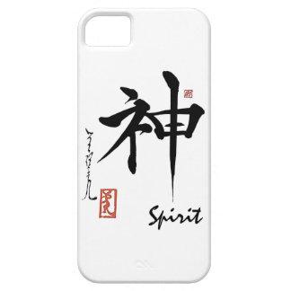 Kanji Symbol SPIRIT Japanese Chinese Calligraphy iPhone 5 Case