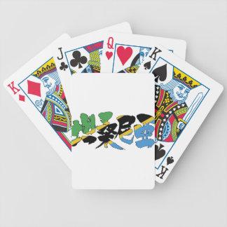 [Kanji] Tanzania Bicycle Playing Cards