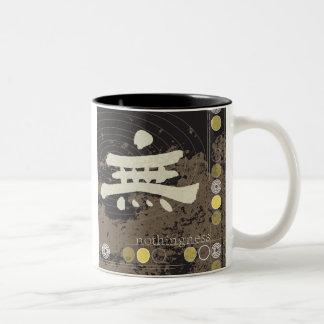 Kanji, taza del diseño de la nada
