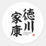 Kanji - Tokugawa Ieyasu - Classic Round Sticker
