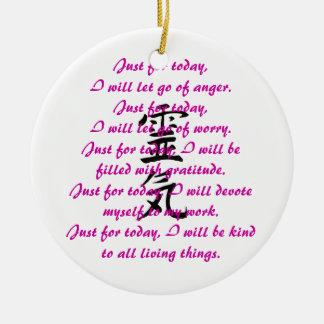 Kanji y preceptos de Reiki Ornatos