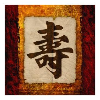 Kanji Zen Longevity Art Photo
