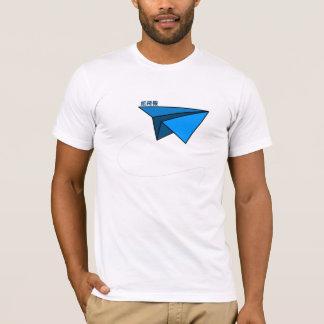 Kanjiz Illustration : Paper Plane T-Shirt