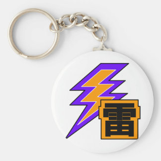 Kanjiz illustration : Thunder Keychain