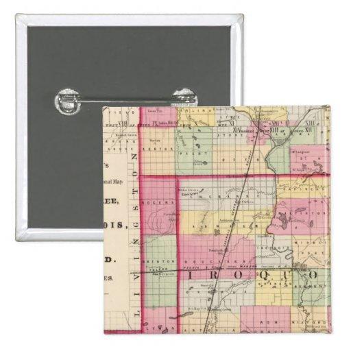 Kankakee, Iroquois, condados de Ford Pin