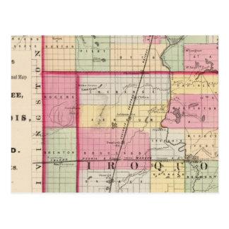 Kankakee, Iroquois, condados de Ford Tarjetas Postales