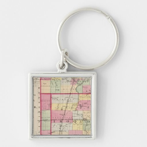 Kankakee, Iroquois, Ford counties Keychains