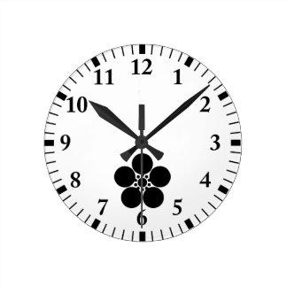 Kanke umebachi round clock