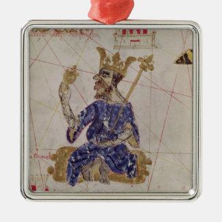 Kankou Mousa, King of Mali Metal Ornament