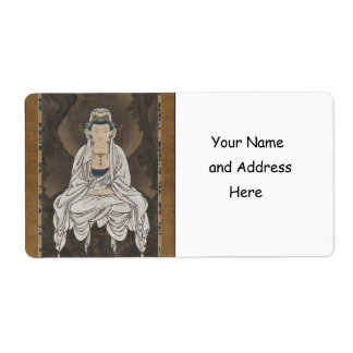 Kannon Bodhisattva de la compasión C 1500 s Etiquetas De Envío