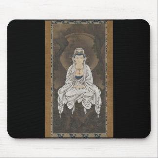 Kannon, Bodhisattva de la compasión C. 1500's Tapete De Ratones