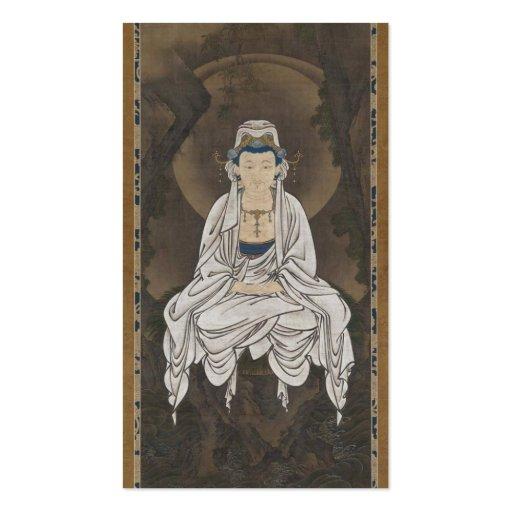 Kannon, Bodhisattva of Compassion c. 1500's Business Card