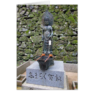 Kannon (Kwan Yin) Greeting Card