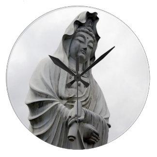 Kannon Statue of Takasaki Large Clock