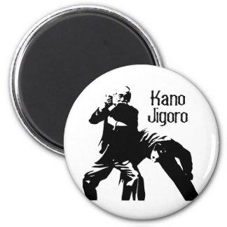 Kano Jigoro - el padre del judo Imán Redondo 5 Cm