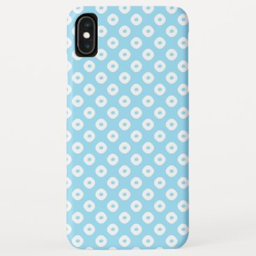 """Kanoko"" Fawn Spot Pattern White iPhone XS Max Case"