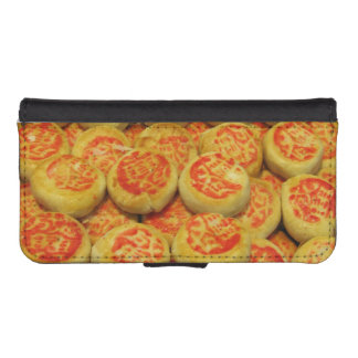 Kanom Pia ขนมเปี๊ยะ ~ Asian Sweets Desserts Food iPhone SE/5/5s Wallet