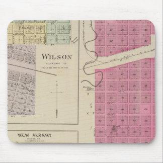 Kanopolis, Wilson, Guilford, New Albany, Kansas Mouse Pad
