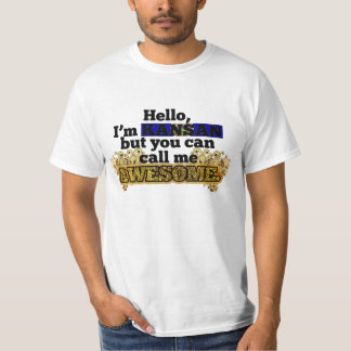 Kansan, but call me Awesome T-Shirt