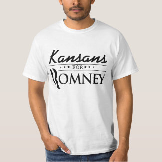 Kansans for Romney Election T-Shirt