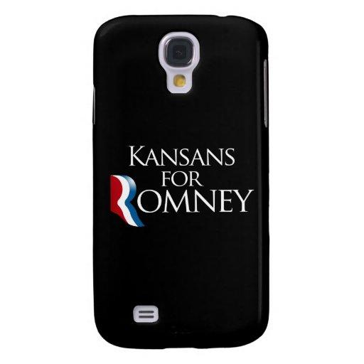 Kansans para Romney - .png Funda Para Galaxy S4