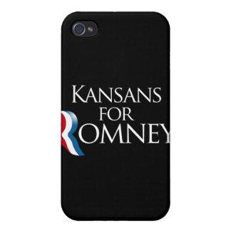 Kansans para Romney - png iPhone 4 Protector