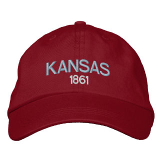Kansas 1861 Embroidered Hat