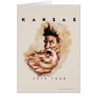 KANSAS - 1974 Tour Greeting Card