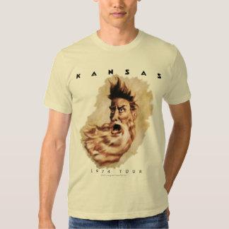 KANSAS - 1974 Tour T Shirts