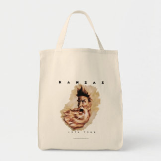 KANSAS - 1974 Tour Tote Bag