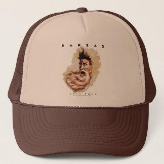 KANSAS - 1974 Tour Trucker Hat