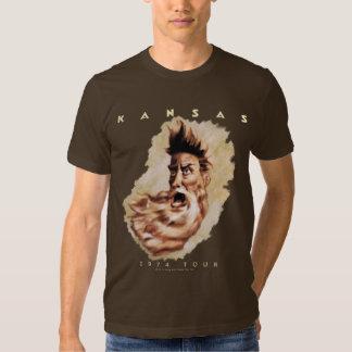 KANSAS - 1974 Tour Tshirts
