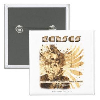 KANSAS - 2006 Tour 2 Inch Square Button