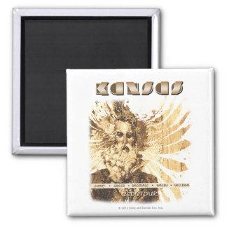 KANSAS - 2006 Tour 2 Inch Square Magnet