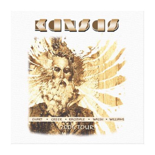 KANSAS - 2006 Tour Canvas Print