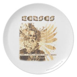KANSAS - 2006 Tour Melamine Plate