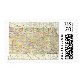 Kansas 2 postage