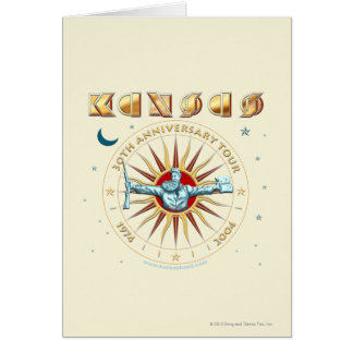 KANSAS - 30th Anniversary Card
